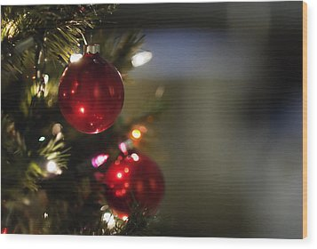 Wood Print featuring the photograph Christmas In The Sanctuary by Lisa Missenda