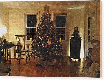 Christmas Past Cpwc Wood Print
