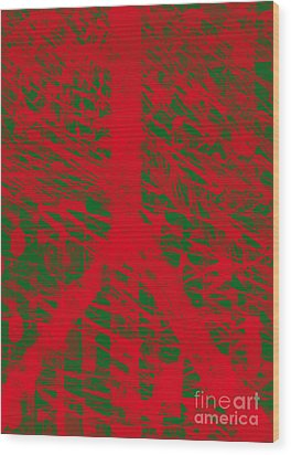 Christmas Peace Wood Print by Robert Haigh