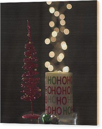Christmas Still Life Wood Print
