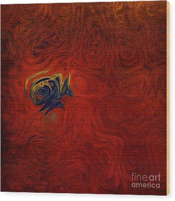 Chronicle Wood Print by Michael Garyet