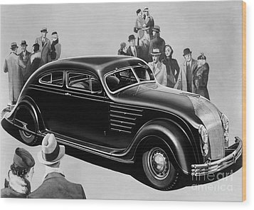 Chrysler Airflow Wood Print by Photo Researchers