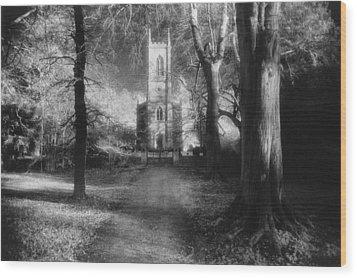 Church Of St Mary Magdalene Wood Print by Simon Marsden