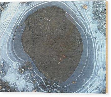 Circling Wood Print