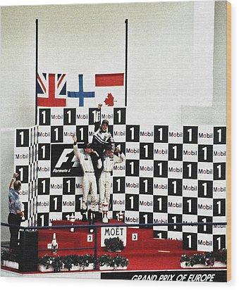 Circuito De Jerez 1997 Wood Print by Juergen Weiss