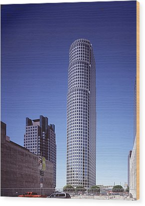 Citicorp Plazas Fifty-three-story 777 Wood Print by Everett