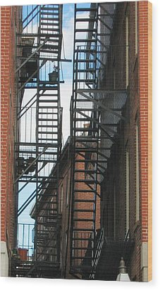 Wood Print featuring the photograph City Escapes by Bruce Carpenter