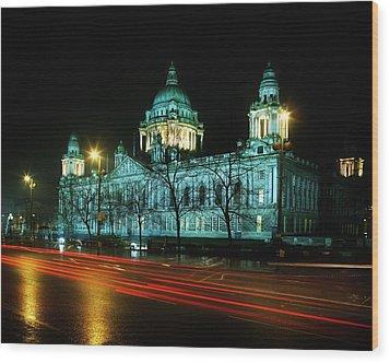 City Hall, Belfast, Ireland Wood Print by The Irish Image Collection