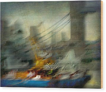 Wood Print featuring the photograph Cityscape #28 by Alfredo Gonzalez