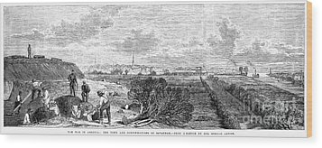 Civil War: Savannah, 1863 Wood Print by Granger