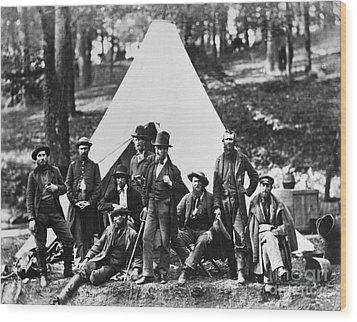 Civil War: Scouts, 1862 Wood Print by Granger