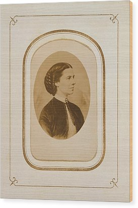 Clara Barton 1821-1912, At The End Wood Print by Everett