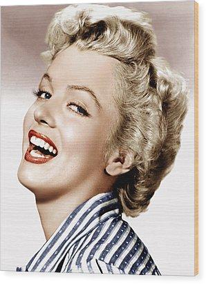 Clash By Night, Marilyn Monroe, 1952 Wood Print by Everett