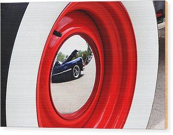 Classic Cars 042 Wood Print by Charley Starnes