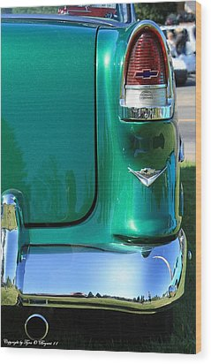 Wood Print featuring the photograph Classic Chevy by Tyra  OBryant