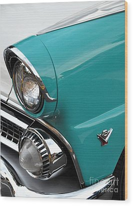 Classic Ford Wood Print by John Black