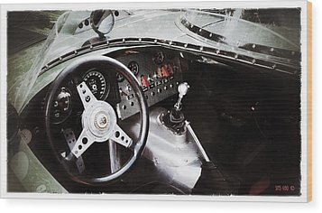 Classic Jaguar Wood Print