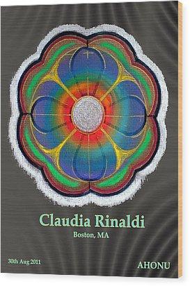 Claudia Rinaldi Wood Print