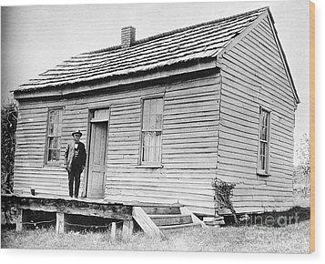 Clemens: Birthplace Wood Print by Granger