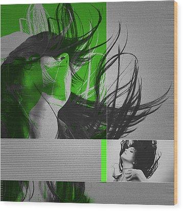 Climax Wood Print by Naxart Studio
