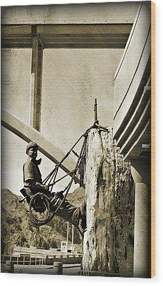 Climbing High IIi Wood Print by Malania Hammer