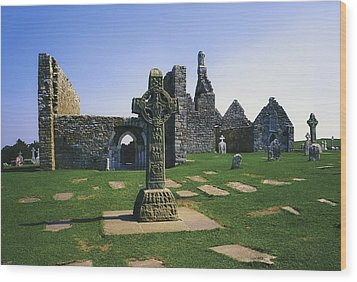 Clonmacnoise, Co Offaly, Ireland, West Wood Print by The Irish Image Collection