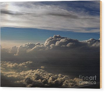 Cloud Series 4 Wood Print