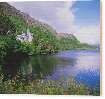 Co Galway, Ireland, Kylemore Abbey Wood Print by The Irish Image Collection