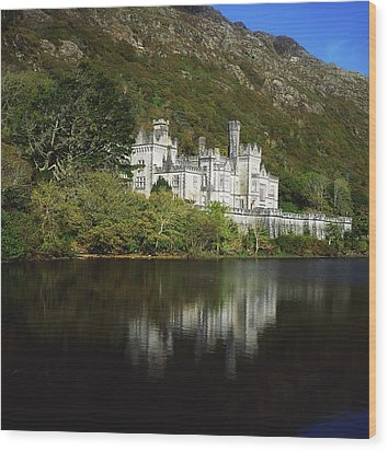 Co Galway, Kylemore Abbey Wood Print by The Irish Image Collection