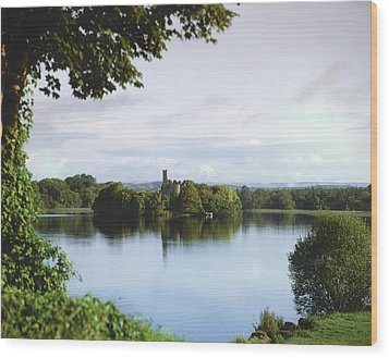 Co Roscommon, Lough Key Wood Print by The Irish Image Collection