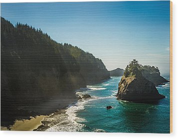 Wood Print featuring the photograph Coastal Bliss by Randy Wood