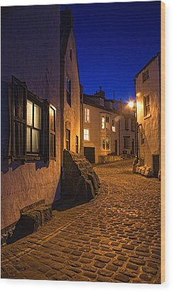 Cobblestone Road, North Yorkshire Wood Print by John Short