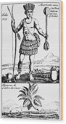 Cocoa, 1685 Wood Print by Granger