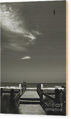 Coconut Point Beach Fl Wood Print by Susanne Van Hulst