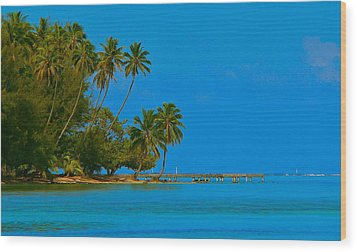 Wood Print featuring the photograph Coconuts Anyone by Eric Tressler