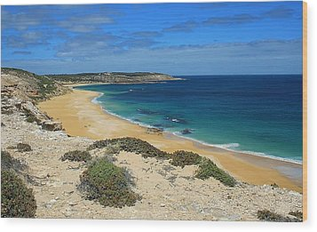 Coffin Bay Np 03 Wood Print by David Barringhaus