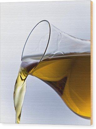 Cognac Wood Print by Frank Tschakert