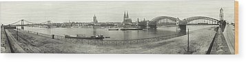 Cologne - Germany - C. 1921 Wood Print by International  Images
