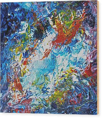 Color Explosion No Fifty Six  Wood Print by Ten Eyck Hunt