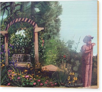 Colorado Flower Garden 2 Wood Print by Stephen  Hanson