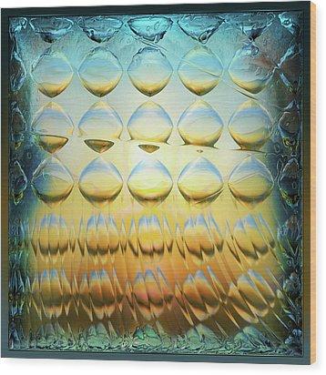 Colorbulbs Wood Print by Li   van Saathoff
