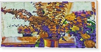Colored Memories Wood Print by Madeline Ellis