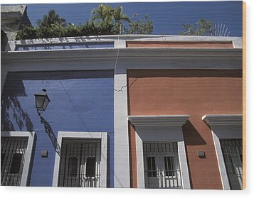 Colorful Architecture In Old San Juan Wood Print by Scott S. Warren