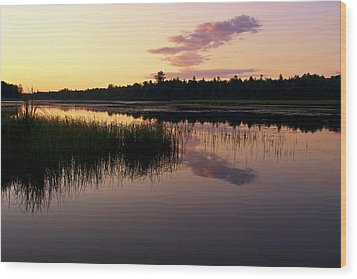 Wood Print featuring the photograph Colors Of The Dawn by Yelena Rozov
