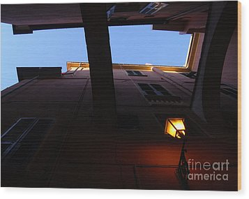 Wood Print featuring the photograph Colours Of Light II by Andy Prendy