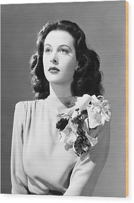 Come Live With Me, Hedy Lamarr, 1941 Wood Print by Everett