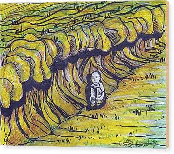 Comfort Zone Wood Print by Robert Wolverton Jr