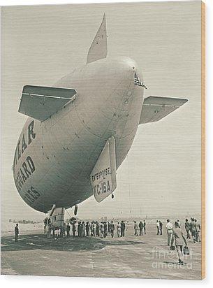Commuter Flight 1940 Wood Print by Padre Art