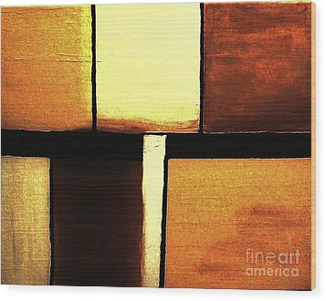 Confused Wood Print by Marsha Heiken