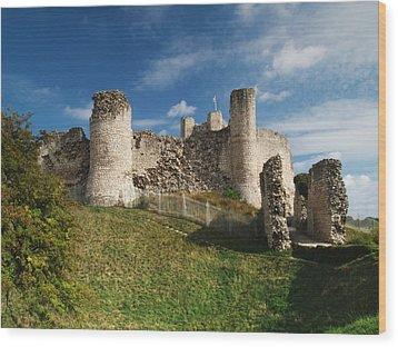 Conisborough Castle Wood Print